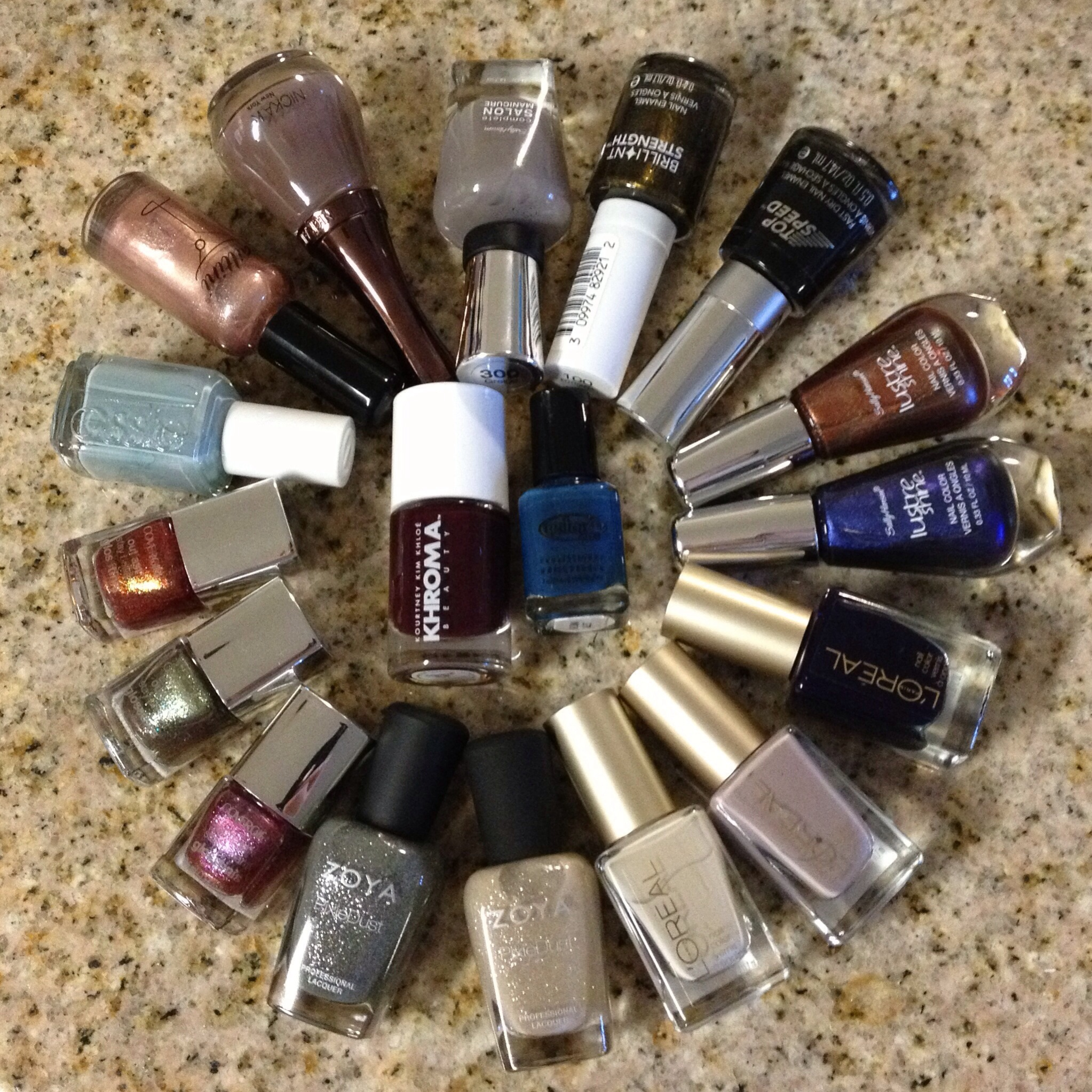 Nail Polish haul nails Zoya Revlon L'oreal