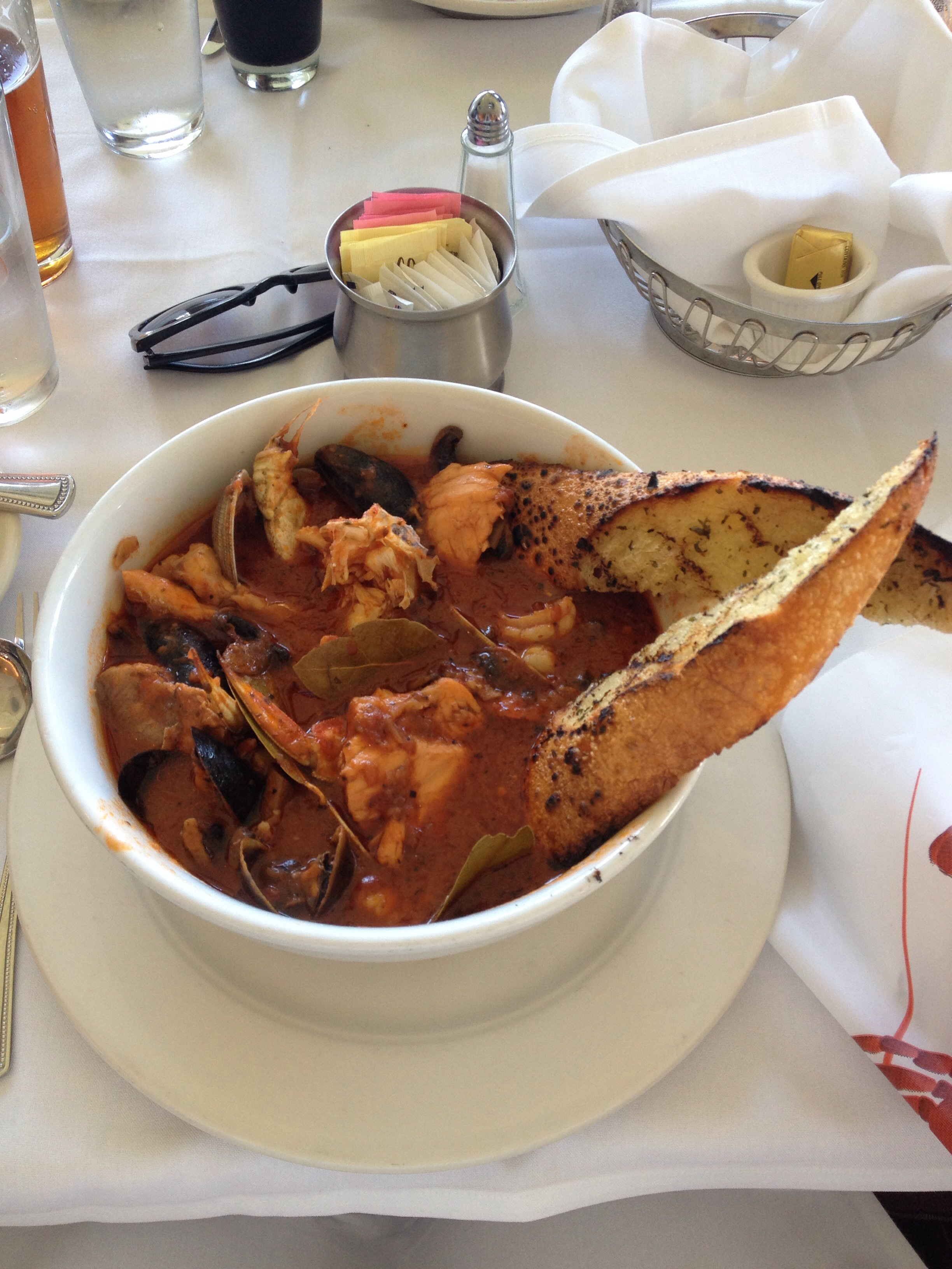 San Francisco brunch cioppino seafood