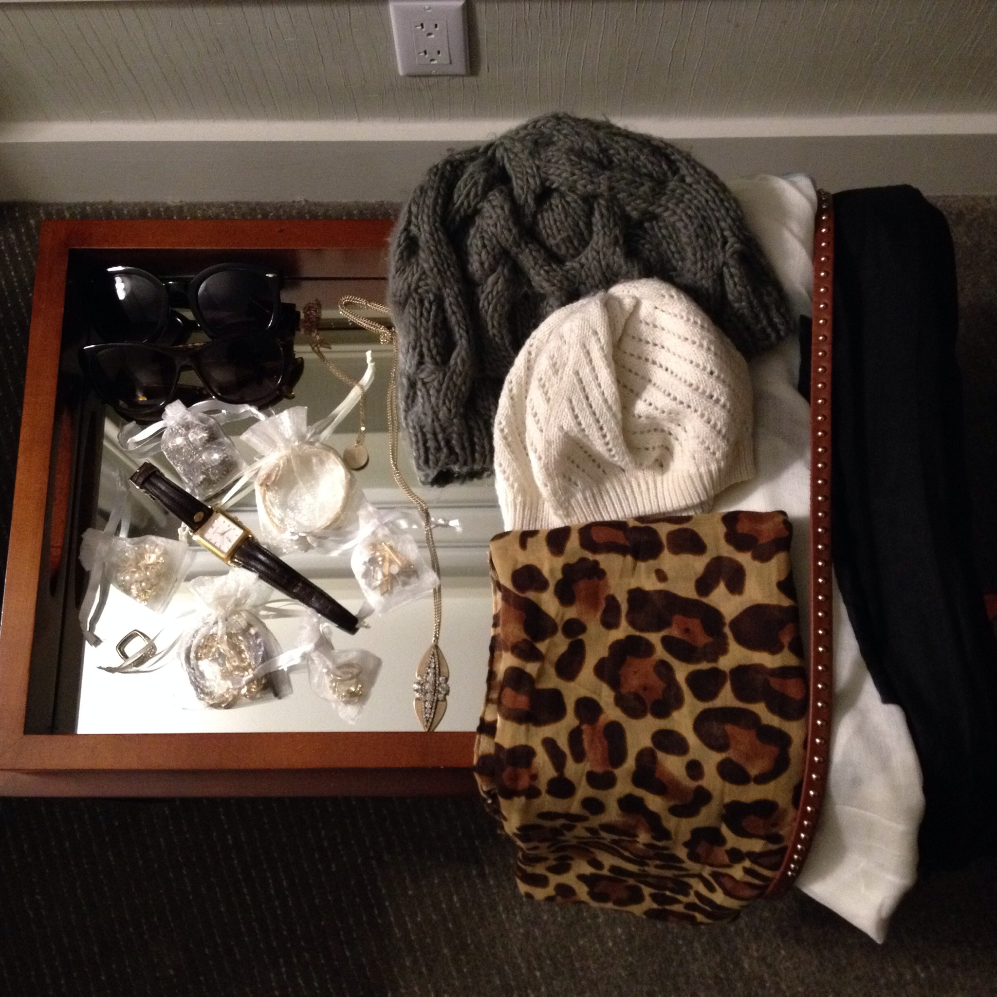 accessories travel leopard scarf fashion blogger travels beanie studded belt